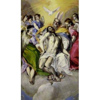 quadros religiosos - Quadro -Trinidad- - Greco, El (D. Theotocopoulos)