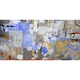 Quadros para o escritório - Quadro -Abstrato _ Mediterrâneo- - Herron, Marisa