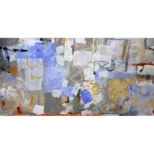 Quadro -Abstrato _ Mediterrâneo-