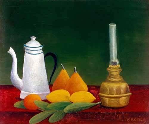 cuadros de bodegones - Cuadro -Bodegón- - Rousseau, Henri