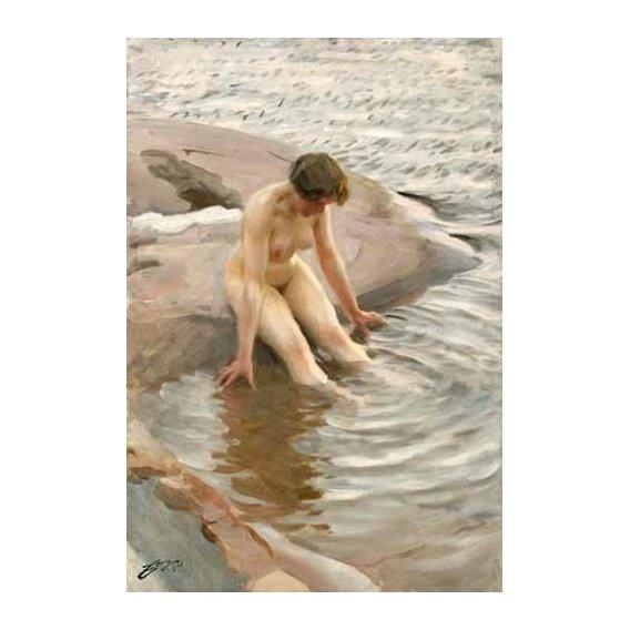 fotos nuas - Quadro -Wet, 1910-