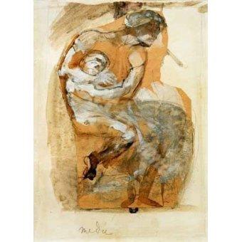 - Quadro -Medea- - Rodin, Auguste