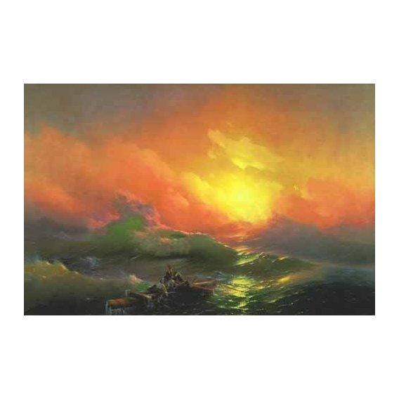 pinturas de paisagens marinhas - Quadro -The Ninth Wave-