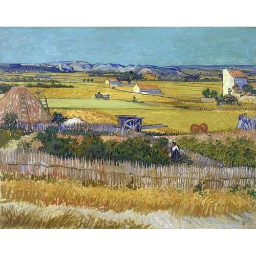 Quadro -The harvest, 1888-