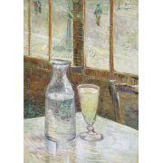 Cuadro -Cafe table with absinth, 1887-