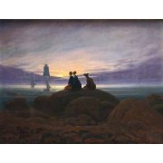 Quadro -Moonrise over the Sea, 1822-