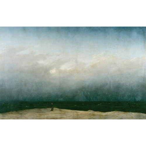 Quadro -Monk by the Sea, 1810-
