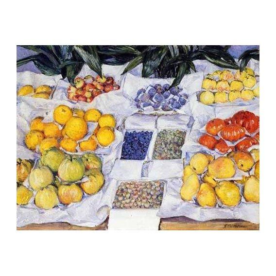 cuadros decorativos - Cuadro -Fruta expuesta en un mostrador-