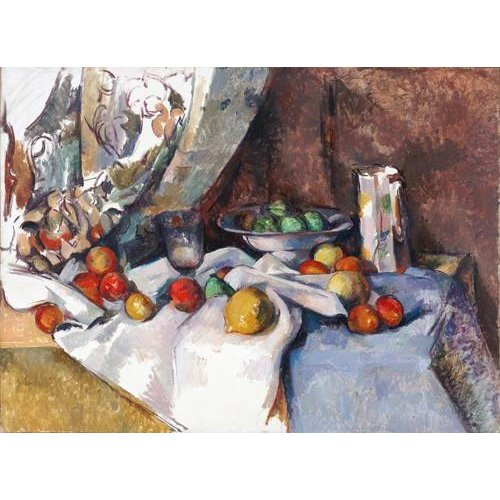 Quadro -Still Life with Apples, 1895-1898-
