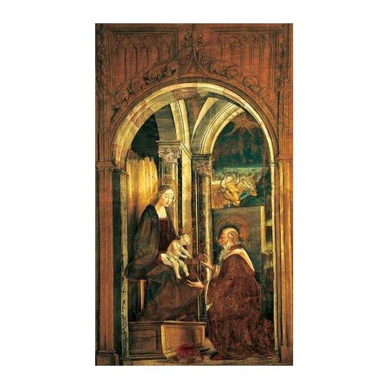 imagens religiosas - Quadro -La Adoración De Los Magos-