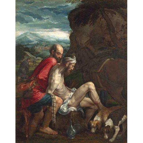 Quadro -El Buen Samaritano (The Good Samaritan)-