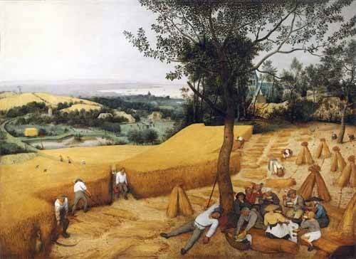 quadros-de-paisagens - Quadro -The Harvesters- - Bruegel