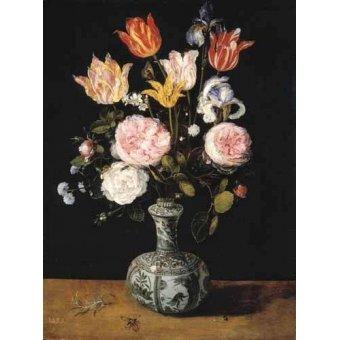 cuadros de flores - Cuadro -Florero- - Bruegel