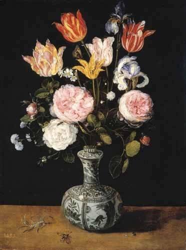 quadros-de-flores - Quadro -Florero- - Bruegel