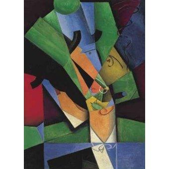 - Quadro -El Fumador, 1913- - Gris, Juan