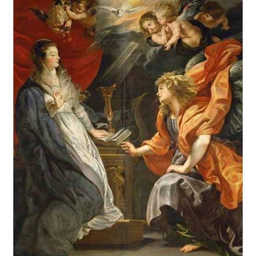 imagens religiosas - Quadro -Anunciacion, 1609-