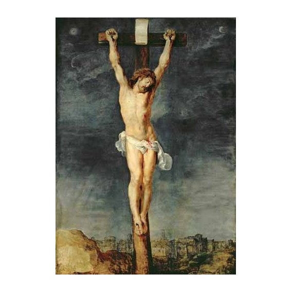 imagens religiosas - Quadro -Cristo en la cruz-
