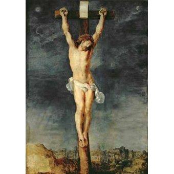 quadros religiosos - Quadro -Cristo en la cruz- - Rubens, Peter Paulus