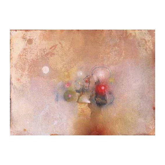 pinturas abstratas - Quadro -Universo-VII-