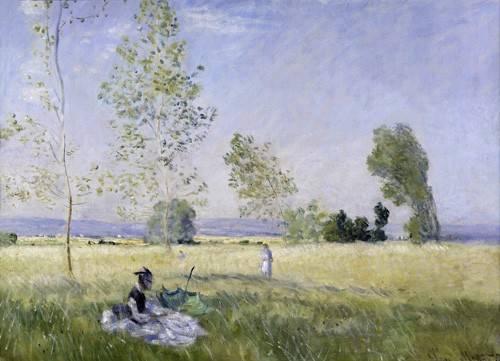 quadros-de-paisagens - Quadro -Summer, 1874- - Monet, Claude