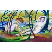 Quadro -Nudes under Trees, 1911-