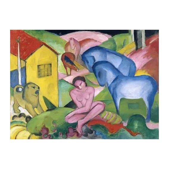 pinturas do retrato - Quadro -The Dream-
