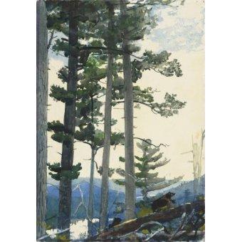 - Quadro -Old Settlers, 1892- - Homer, Winslow