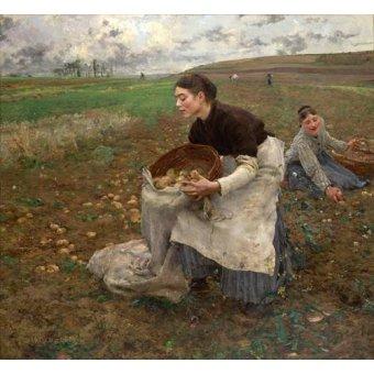 - Quadro -October, 1878- - Bastien Lepage, Jules