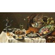 Cuadro -Bodegon con pastel turco, 1627-