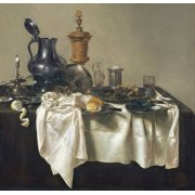 Cuadro -Banquet Piece with Mince Pie, 1635-
