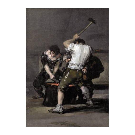pinturas do retrato - Quadro -La_fragua, 1815-1820-