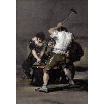- Quadro -La_fragua, 1815-1820- - Goya y Lucientes, Francisco de