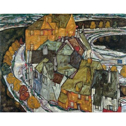 Quadro -Crescent of Houses II (Island Town), 1915-