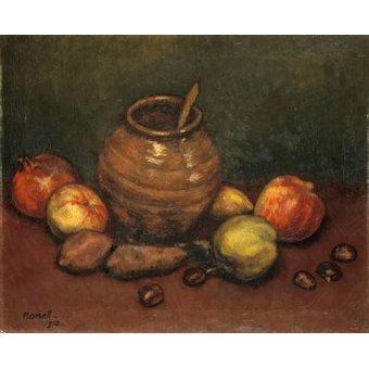 - Quadro -Still Life, 1910- - Nonell y Monturiol, Isidre