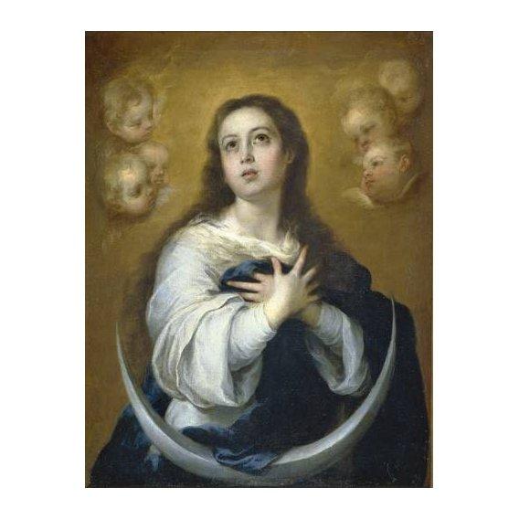 imagens religiosas - Quadro -La Inmaculada Concepcion, 1662-