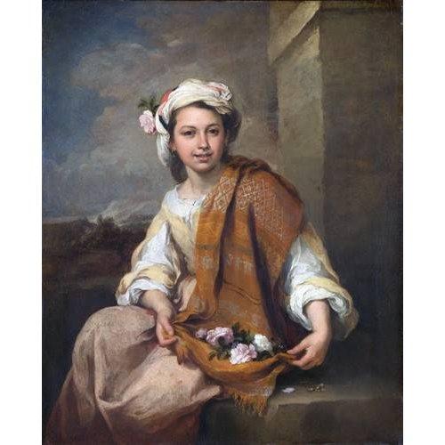 Quadro -La Niña de las Flores, 1670-