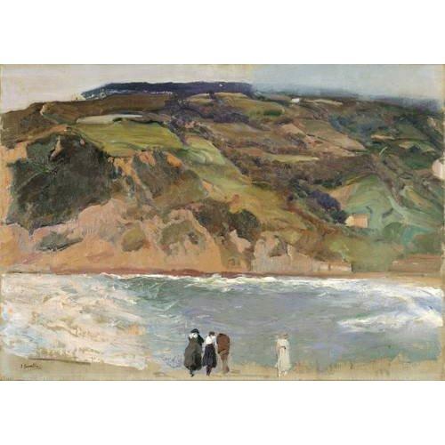 Quadro -Rompeolas de San Sebastián, 1917-