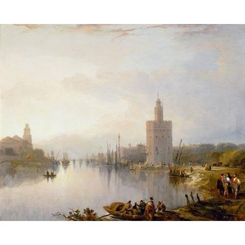 Quadro -La Torre del Oro, Sevilla-