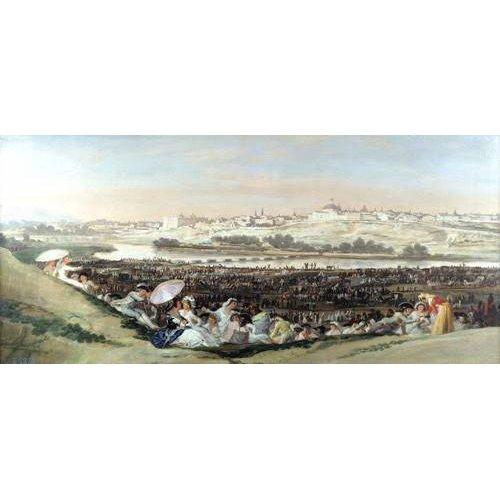 Quadro -La Pradera de San Isidro, 1814-
