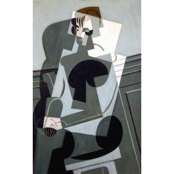 - Quadro -Portrait de Madame Josette Gris, 1916- - Gris, Juan