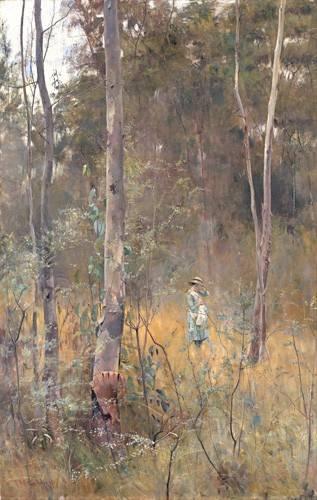 quadros-de-paisagens - Quadro -Perdida (Lost)- - McCubbin, Frederick