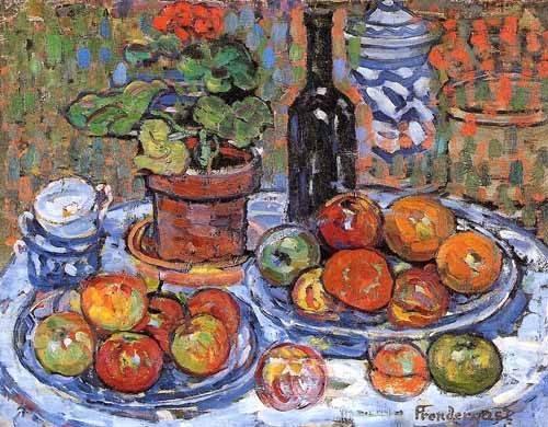 cuadros decorativos - Cuadro -Bodegón- - Prendergast, Maurice