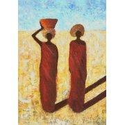 Quadro -African Girls, 2001-