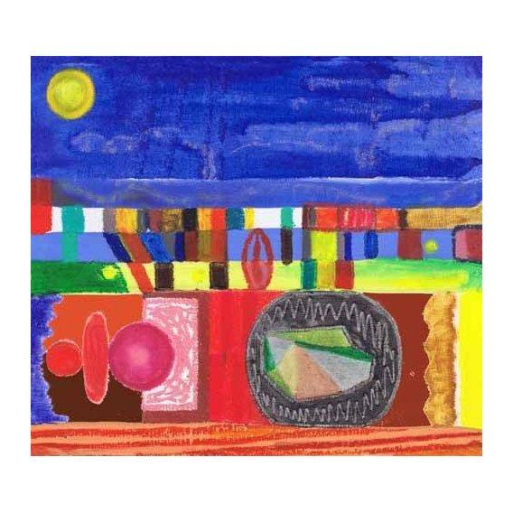 imagens étnicas e leste - Quadro -Nocturnal, 2002-