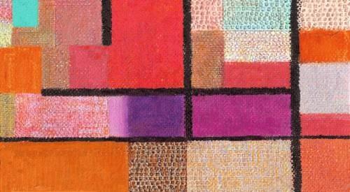 quadros-abstratos - Quadro -Abstracto M_K_12- - Molsan, E.