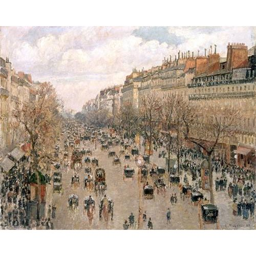 Quadro -Boulevard_Montmartre, 1897-