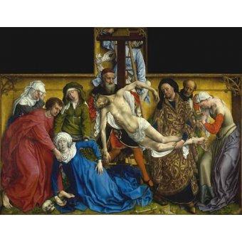 quadros religiosos - Quadro -El Descendimiento- - Van der Weiden, Rogier