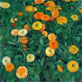 quadros de flores - Quadro -Caléndulas (Marigolds)- - Moser, Kolo