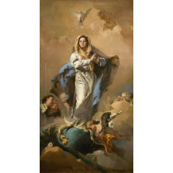 quadros religiosos - Quadro -La Inmaculada Concepción- - Tiepolo, Giovanni Battista