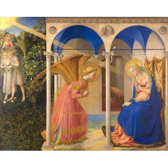 cuadros religiosos - Cuadro -La Anunciación- - Fra Angelico, G. Da Fisole